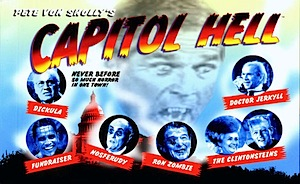 PETE VON SHOLLY'S                                                 CAPITOL HELL POSTCARD                                                 BOOK