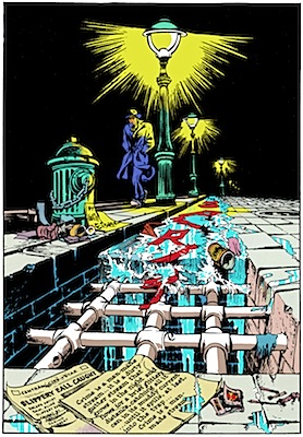 WILL EISNER'S RIVER                                                 OF CRIME SERIGRAPH